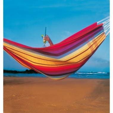 Brasilianische Hängematte Barbados regenbogen