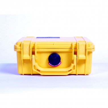 Pelibox 1120 gelb, mit Schaumeinsatz