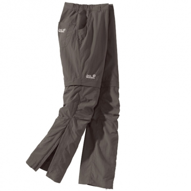 Jack Wolfskin Canyon Zip Off Pants Women - olive brown / 44