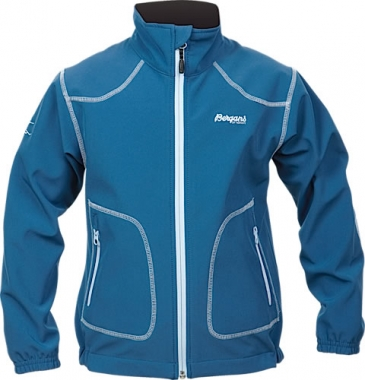 Bergans Killingen Kids Softshell-Jacket - blue / 104