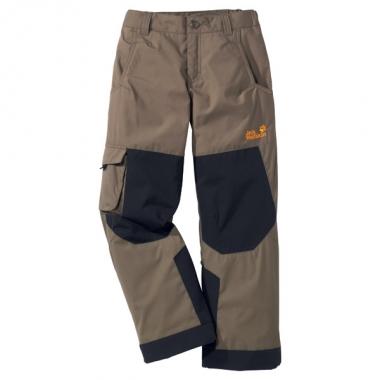Jack Wolfskin Kids Winter Pants - silver-mink / 176