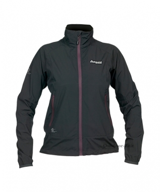 Bergans Active Light Lady Jacket - black-plum / M