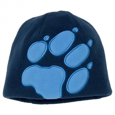 Jack Wolfskin Kids Front Paw Hat - black / One Size