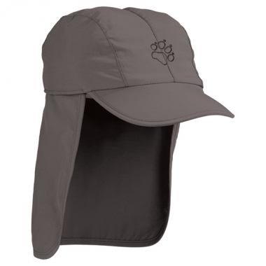 Jack Wolfskin Kids Supplex Sun Cap - stone / M