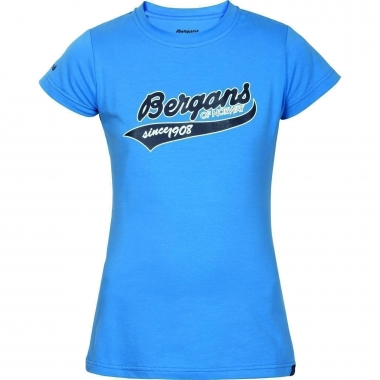Bergans Retro Girl Tee - summersky / 164