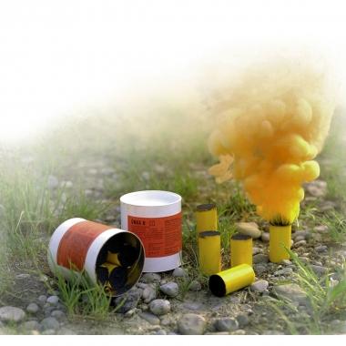 Rauchpatronen 5 Patronen, orange