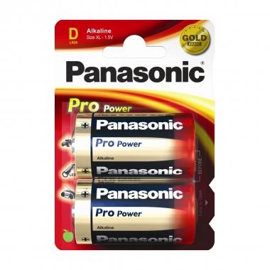 Panasonic Alkaline Batterien Power Max 3 Monozelle, 19,76