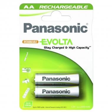 Panasonic Akku Infinium, geladen AA, 2 Stück