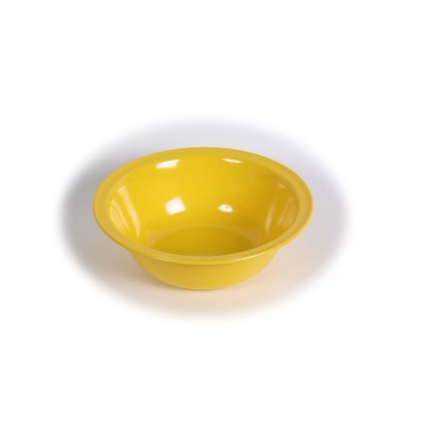 Melamin, gelb Schüssel groß Ø 23.5 cm