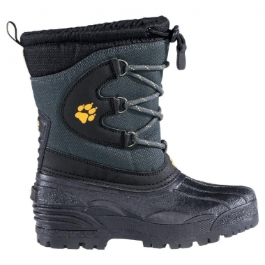 Jack Wolfskin Kids Snow Carver - nearly-black / 38