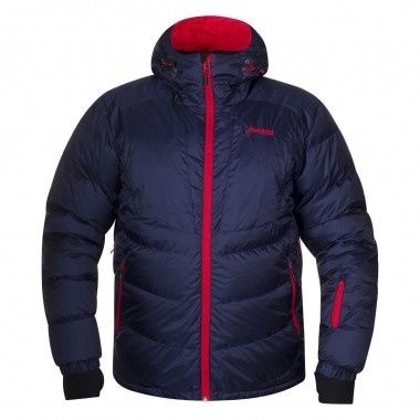 Bergans Sauda Down Jacket - navy-red / XL