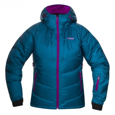 Bergans Sauda Down Lady Jacket - darkoceangreen-purple / L