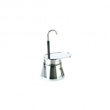GSI Espresso Maker, Edelstahl 4 Tassen