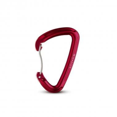 Salewa Karabiner HOT G2 wire, rot