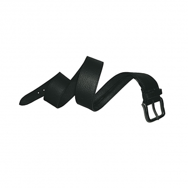 Leathersafe Geldgürtel Shine, schwarz 110 cm
