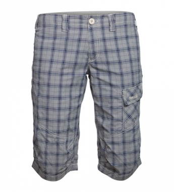 Bergans Utne Lady Pirate Pant - lightbeige-navychecked / XS