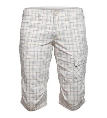 Bergans Utne Lady Pirate Pant - alu-redchecked / XS