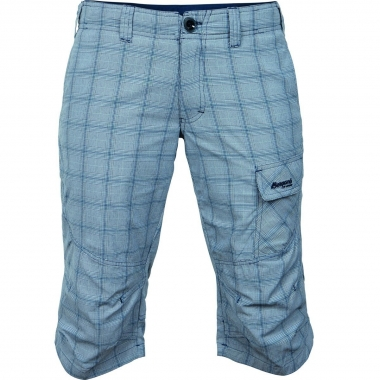 Bergans Utne Lady Pirate Pant - lightblue-sandchecks / M