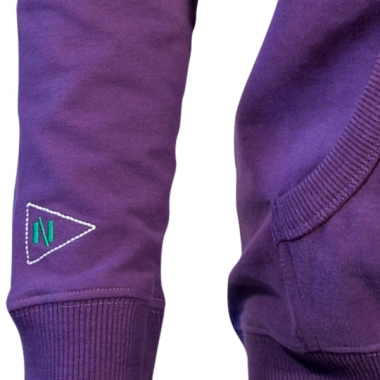 Nihil TCF Hooded Sweater - deep-purple / M