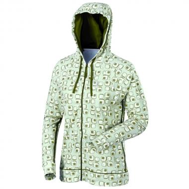 Millet Lady Wellness Print Hoodie - brightwhite-ivygreen / M