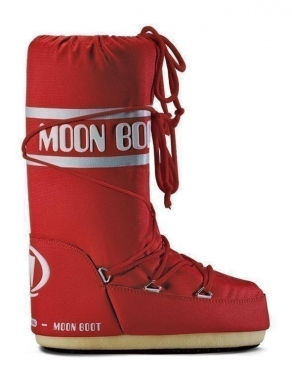 Tecnica Moon Boot Nylon - rot / 42/44