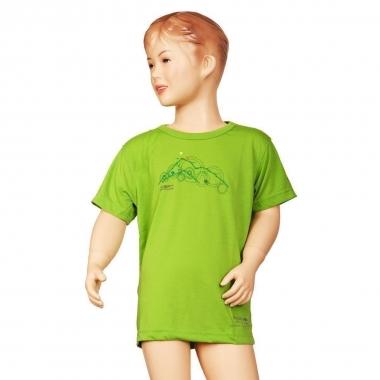 Regatta Kinder Funktions T-Shirt Highbrow - kiwi / 164