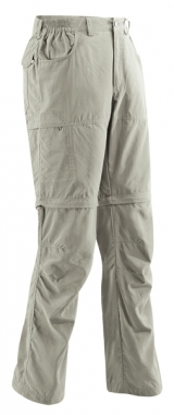 Vaude Path Zip Off Pants Women - muddy / 42