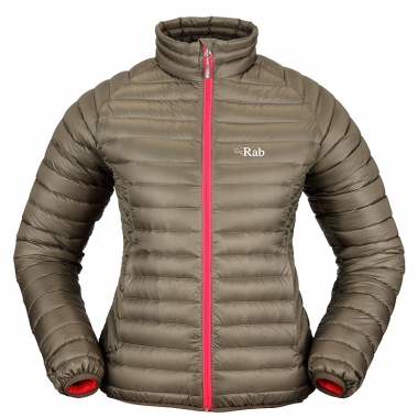 Rab Womens Microlight Jacket - khaki / 40
