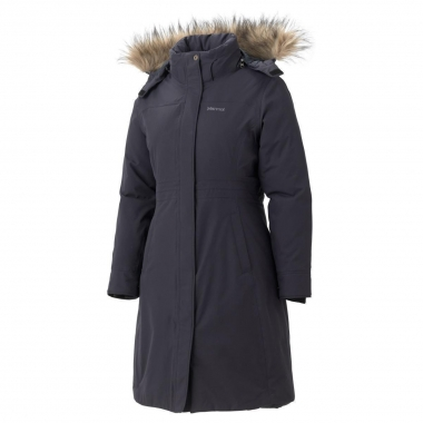 Marmot Womens Chelsea Coat - black / XL