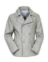 Mens Pea Coat grau, Größe: L
