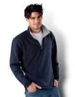 Herren Pique Sweat Shirt, Größe: L