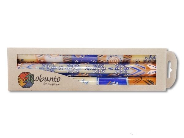 Geschenkbox 3x Stabkerze Durra 23cm