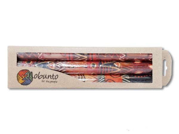 Geschenkbox 3x Stabkerze Bongazi 23cm