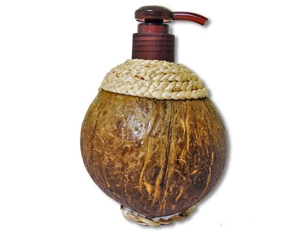 Seifenspender Kokosholz 16cm