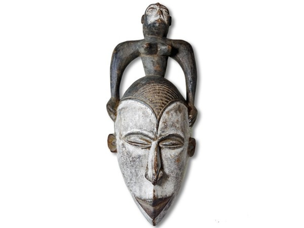Maske der Ibo Nigeria/Afrika 42cm