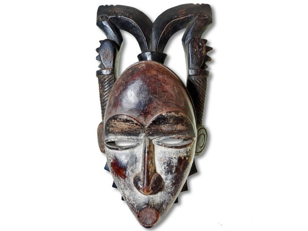 Yohure-Maske, Elfenbeinküste/Afrika 34cm