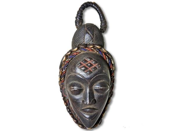 Afrikanische Maske der Punu Gabun/Afrika 33cm