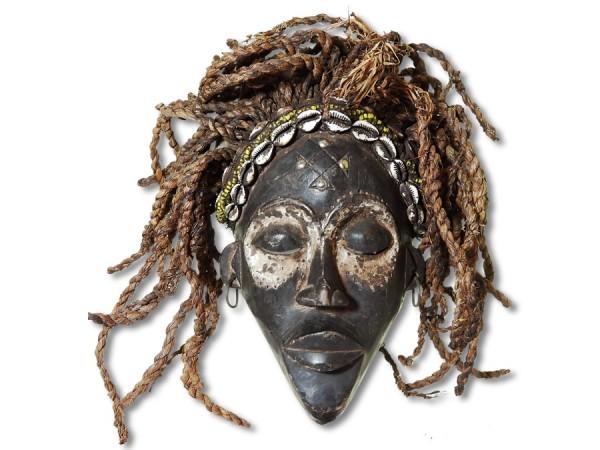 Chokwe Maske DR Kongo/Congo Afrika 31cm