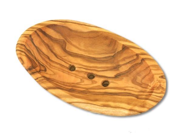 Seifenschale aus Olivenholz 13cm
