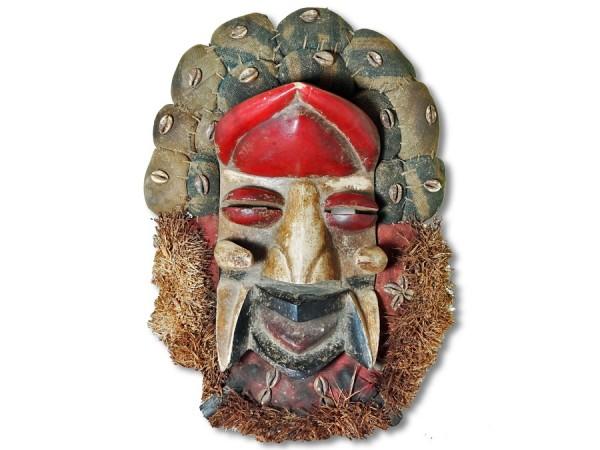 Affenmaske der Dan Liberia/Afrika 45cm