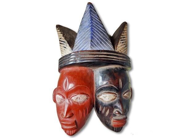 Maske der Yoruba Nigeria/Afrika 27cm