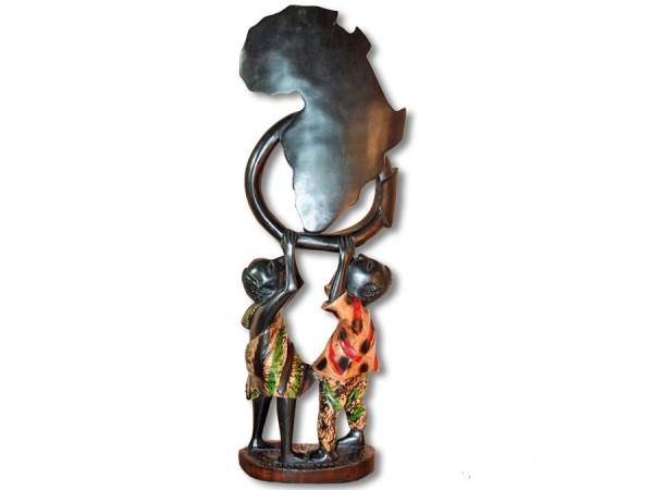 Figur abstrakt Afrika 64cm