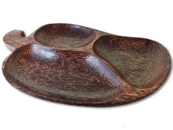 Kokosholz Snackschale 30x20cm