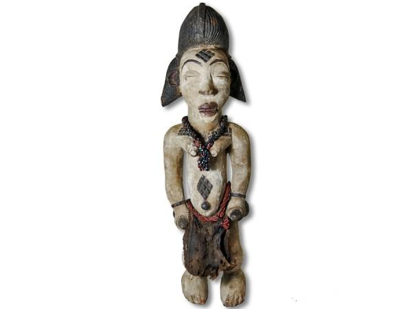 Weibliche Figur der Punu Gabun/Afrika 58cm