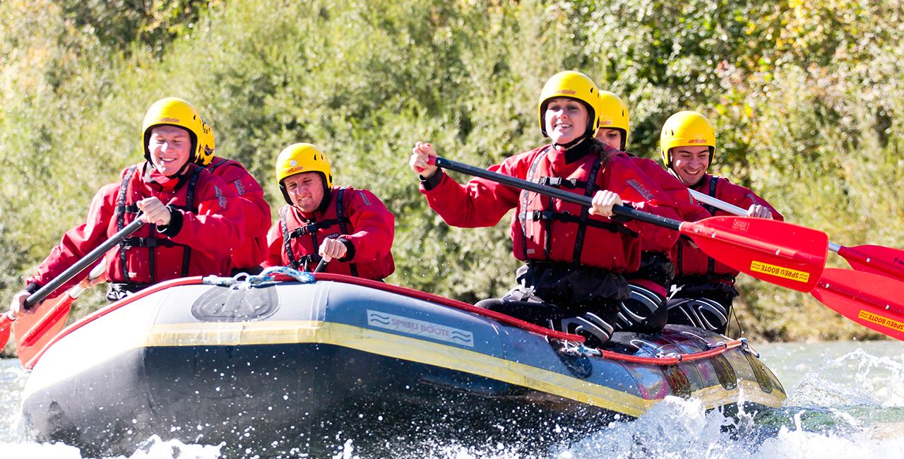 Raftingtour für Zwei auf der Isar in Bad Tölz, Oberbayern