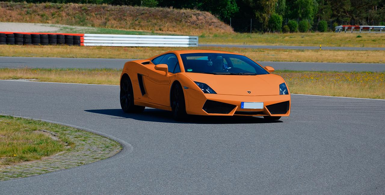 15 Rd. Lamborghini Gallardo selber fahren auf dem Spreewaldring