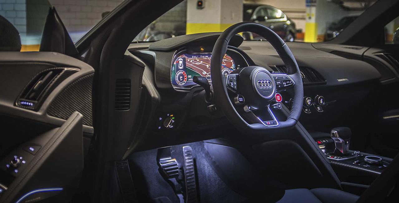 3 Tage Audi R8 V10 mieten in Rosenheim