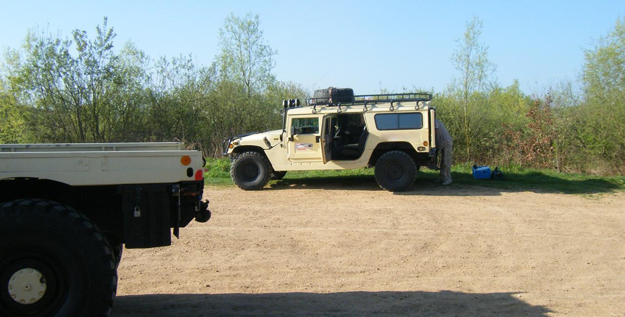 30 Min. Hummer H1 offroad fahren in Horstwalde, Raum Berlin
