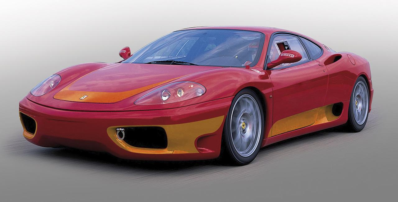 6 Runden Ferrari F360 selber fahren auf dem Eurospeedway Lausitz