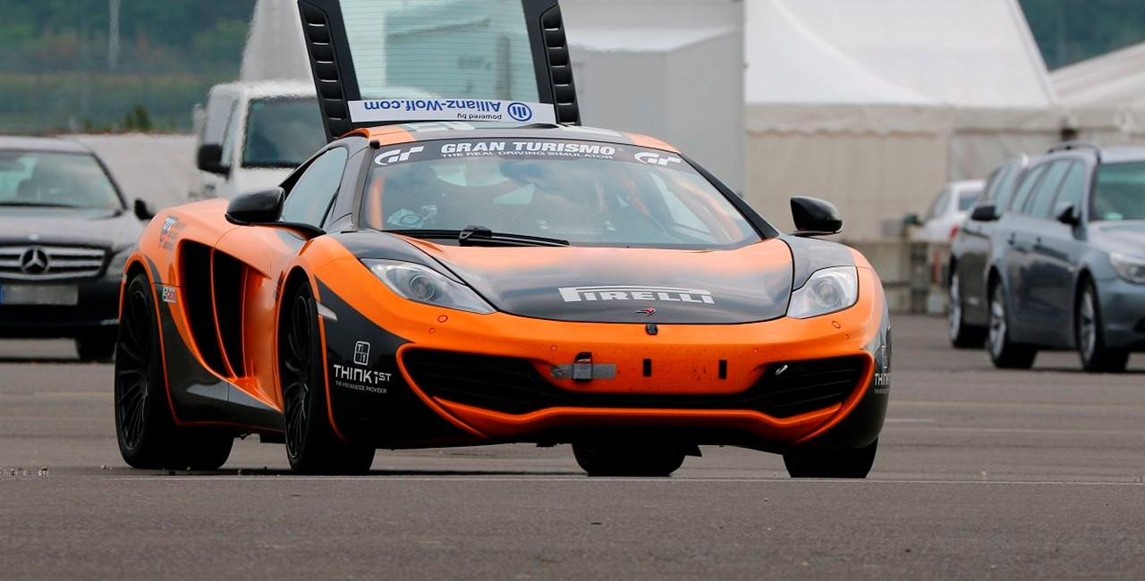 6 Runden McLaren selber fahren in Groß Dölln